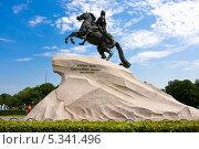 Купить «Памятник Петру Первому, Санкт-Петербург», фото № 5341496, снято 5 августа 2010 г. (c) Алексей Попов / Фотобанк Лори