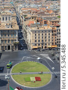 Венецианская площадь. Рим. Италия (2011 год). Редакционное фото, фотограф Иван Козлов / Фотобанк Лори