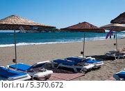 Пляж, Турция, Даламан (2013 год). Стоковое фото, фотограф Володина Ольга / Фотобанк Лори