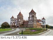Мирский замок, Беларусь (2013 год). Стоковое фото, фотограф Boris Breytman / Фотобанк Лори