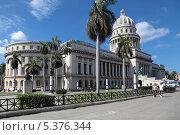 Купить «Капитолий в Гаване, Республика Куба», фото № 5376344, снято 20 сентября 2019 г. (c) Игорь Долгов / Фотобанк Лори