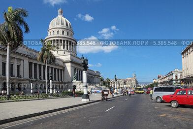 Республика Куба, Гавана, городской пейзаж