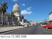 Купить «Республика Куба, Гавана, городской пейзаж», фото № 5385548, снято 19 октября 2018 г. (c) Игорь Долгов / Фотобанк Лори
