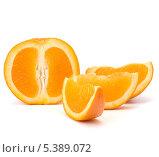 Купить «Дольки апельсина», фото № 5389072, снято 16 марта 2011 г. (c) Natalja Stotika / Фотобанк Лори