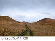 Дорога в горах Кисловодска. Стоковое фото, фотограф Александр Ольхов / Фотобанк Лори