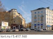 Купить «Калининград. Старые дома на проспекте Мира», эксклюзивное фото № 5417160, снято 29 октября 2013 г. (c) Svet / Фотобанк Лори