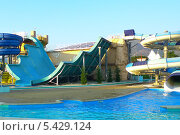 Аквапарк в городе Геленджик. Стоковое фото, фотограф Lina / Фотобанк Лори