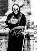 Смерть. Стоковое фото, фотограф Дмитрий Зубаркин / Фотобанк Лори