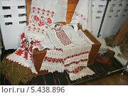Купить «Полотенце (рушник)», фото № 5438896, снято 2 июня 2013 г. (c) Марина Шатерова / Фотобанк Лори