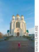 Купить «Калининград. Церковь», эксклюзивное фото № 5441692, снято 28 декабря 2013 г. (c) Svet / Фотобанк Лори