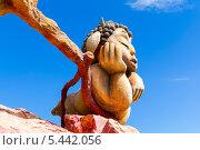 Купить «Скульптура в парке развлечений на горе Мтацминда. Тбилиси. Грузия», фото № 5442056, снято 3 июля 2013 г. (c) Евгений Ткачёв / Фотобанк Лори