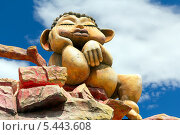 Купить «Скульптура в парке развлечений на горе Мтацминда. Тбилиси. Грузия», фото № 5443608, снято 3 июля 2013 г. (c) Евгений Ткачёв / Фотобанк Лори