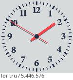 Купить «Настенные цифровые часы», иллюстрация № 5446576 (c) Катыкин Сергей / Фотобанк Лори