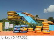 Купить «Аквапарк на острове Закинтос», фото № 5447320, снято 4 июня 2013 г. (c) Хименков Николай / Фотобанк Лори
