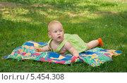 Отдых на траве. Стоковое фото, фотограф Марина Гуменюк / Фотобанк Лори