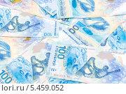 Купить «Сто рублей Российской Федерации, выпущенные к Олимпиаде в Сочи в 2014 году», фото № 5459052, снято 7 января 2014 г. (c) Ласточкин Евгений / Фотобанк Лори