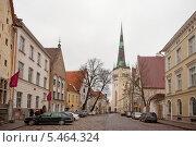 Купить «Церковь Святого Олафа. Таллин, Эстония», эксклюзивное фото № 5464324, снято 5 января 2014 г. (c) Литвяк Игорь / Фотобанк Лори