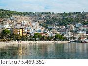 Албанская ривьера, город Саранда, Албания (2013 год). Редакционное фото, фотограф Ольга Кирсанова / Фотобанк Лори