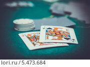 Покер. Стоковое фото, фотограф Петренко Иван / Фотобанк Лори