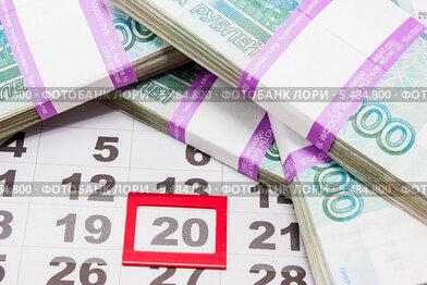 Купить «Время собирать налоги», фото № 5484800, снято 15 января 2014 г. (c) Наталья Осипова / Фотобанк Лори