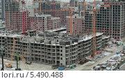 Купить «Строительство жилых домов в Санкт-Петербурге», видеоролик № 5490488, снято 15 января 2014 г. (c) Кекяляйнен Андрей / Фотобанк Лори