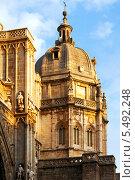 Купить «Купол собора в Толедо», фото № 5492248, снято 22 августа 2013 г. (c) Яков Филимонов / Фотобанк Лори