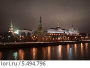 Московский Кремль (2014 год). Стоковое фото, фотограф Павел Карасёв / Фотобанк Лори