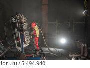 Пескоструй (2013 год). Редакционное фото, фотограф Николай Кудаев / Фотобанк Лори