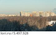 Строительство жилого района. Переделкино Ближнее. (2014 год). Редакционное фото, фотограф Алексей Меньшиков / Фотобанк Лори
