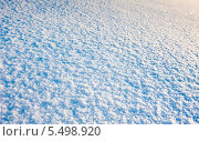 Купить «Фактура снега в солнечный день», фото № 5498920, снято 19 января 2014 г. (c) Екатерина Овсянникова / Фотобанк Лори