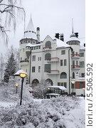 Купить «Финляндия. Иматра. Спа-отель Rantasipi Imatran Valtionhotelli», фото № 5506592, снято 7 декабря 2013 г. (c) Корчагина Полина / Фотобанк Лори