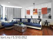 Интерьер современной гостиной. Стоковое фото, фотограф Дмитрий Эрслер / Фотобанк Лори