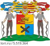 Купить «Герб рода Апраксиных», иллюстрация № 5519364 (c) VectorImages / Фотобанк Лори