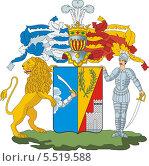 Купить «Герб рода Сазоновых», иллюстрация № 5519588 (c) VectorImages / Фотобанк Лори