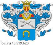 Купить «Герб рода Таптыковых», иллюстрация № 5519620 (c) VectorImages / Фотобанк Лори