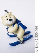 Символ олимпиады Сочи 2014. Белый мишка. Редакционное фото, фотограф Александр Сосюра / Фотобанк Лори