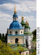 Выдубицкий монастырь. Киев (2013 год). Стоковое фото, фотограф Наталья Волкова / Фотобанк Лори