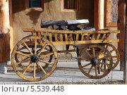Телега с дровами. Стоковое фото, фотограф Валерий Князькин / Фотобанк Лори