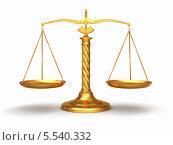 Купить «Золотые весы», иллюстрация № 5540332 (c) Maksym Yemelyanov / Фотобанк Лори