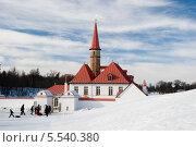 Приоратский дворец. Гатчина (2013 год). Редакционное фото, фотограф Александр Щепин / Фотобанк Лори