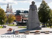 Купить «Памятник Карлу Марксу на Театральной площади в Москве, Россия», фото № 5543232, снято 17 сентября 2012 г. (c) Losevsky Pavel / Фотобанк Лори