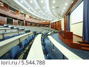 Купить «Учебная аудитория в МГИМО», фото № 5544788, снято 18 августа 2012 г. (c) Losevsky Pavel / Фотобанк Лори