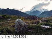 Казбек. Стоковое фото, фотограф Sergey Krylov / Фотобанк Лори