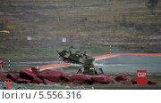 Купить «Боевая десантная машина преодолевает водную преграду», видеоролик № 5556316, снято 3 февраля 2014 г. (c) Игорь Долгов / Фотобанк Лори