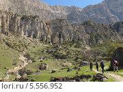 Поход по горам Северной Осетии. Стоковое фото, фотограф Daria / Фотобанк Лори