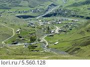 Посёлок Верхний Фиагдон. Северная Осетия - Алания (2013 год). Стоковое фото, фотограф Daria / Фотобанк Лори