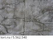 Серая стена с трещинами. Стоковое фото, фотограф Светлана Шаповалова / Фотобанк Лори