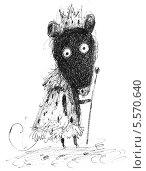 Мышь-король. Стоковая иллюстрация, иллюстратор Инна Багаева / Фотобанк Лори