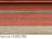 Стена из красного кирпича. Стоковое фото, фотограф Pavel Kozlovsky / Фотобанк Лори