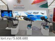 Купить «ILA Berlin Air Show 2012. Модель индийского многофункционального истребителя HAL Tejas», фото № 5608680, снято 14 сентября 2012 г. (c) Sergey Kohl / Фотобанк Лори